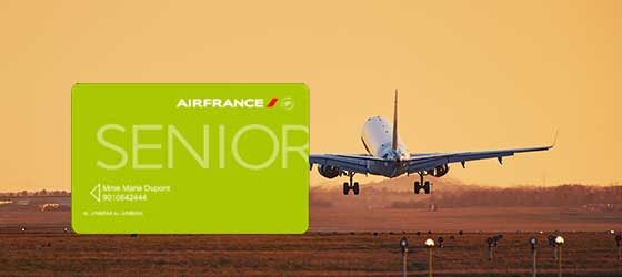 Carte senior Air France