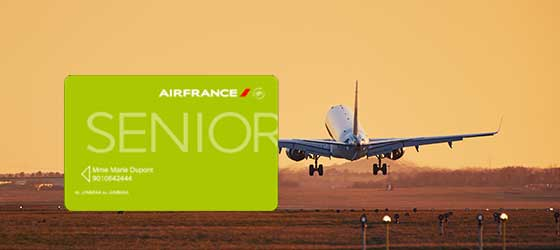 Carte senior Air France