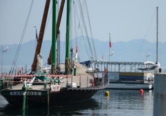 Barque la Savoie-lac Léman
