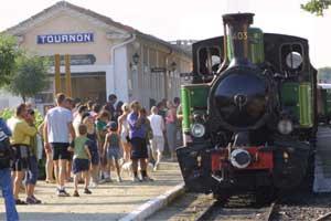 Gare de Tournon pour le train de l'Ardèche