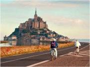 Mont Saint-Michel en train