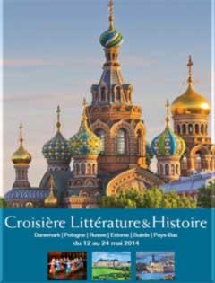 Croisière sur le thème de la littérature et de l'histoire