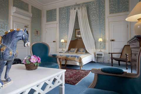 Chambre Hôtel Château d'Ygrande