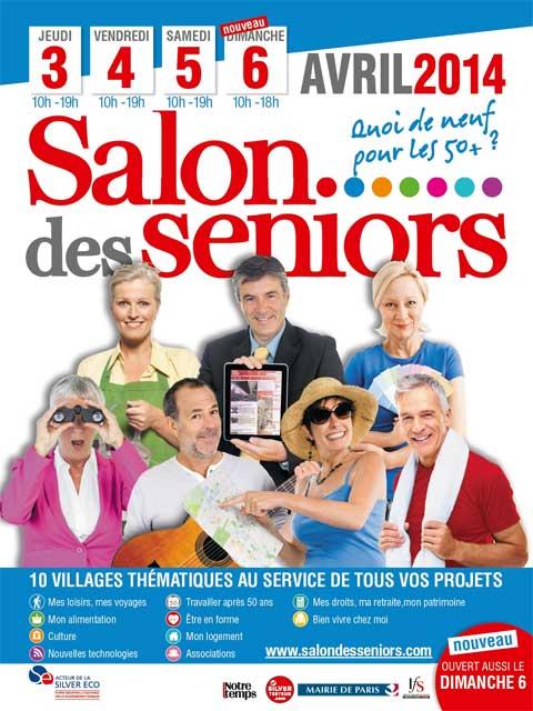 Invitation gratuite au salon des seniors 2014 paris - Salon des seniors paris invitation ...