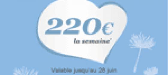La semaine à 220€ : Offre Grands-parents