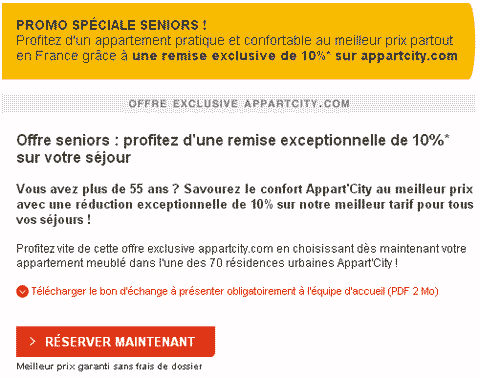 Appart'City visuel offre senior