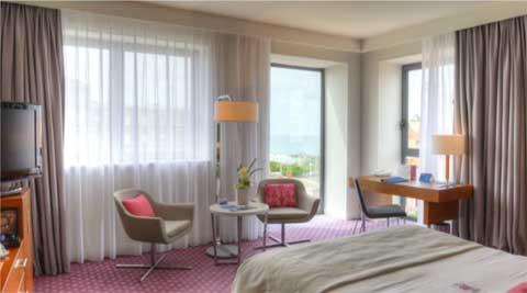 Chambre Radisson Blu Hotel, Biarritz