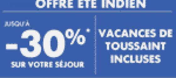Offre de réduction Pierre et Vacances