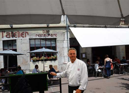 Restaurant l'Atelier à Chambéry