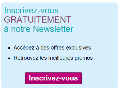 Inscription à la newsletter senior vacances