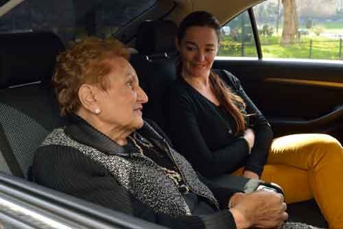 Senior Mobilite service de voiture avec chauffeur