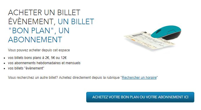 Réservez votre billet Bon plan TER Bourgogne en ligne!