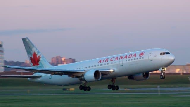 AIR CANADA à Lyon