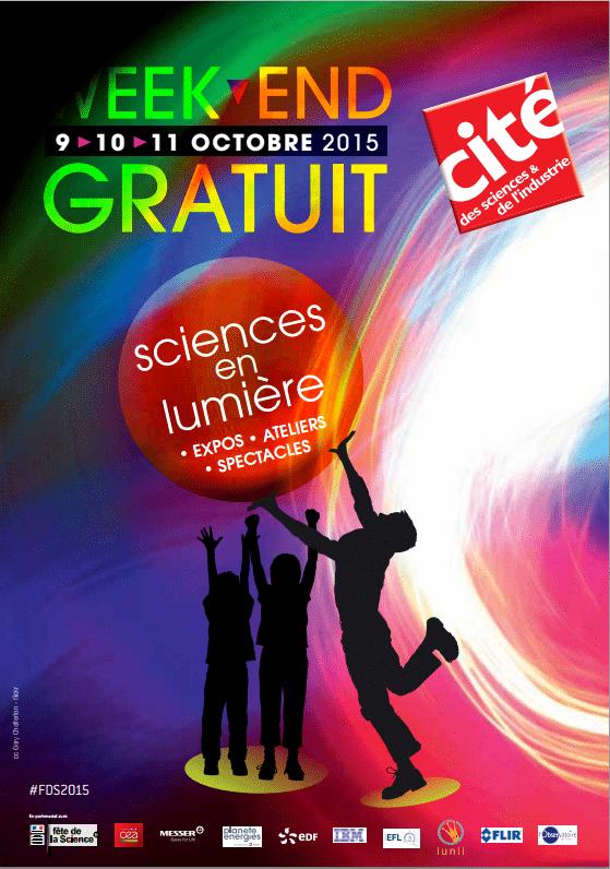 Cité des sciences de Paris et de l'industrie sera entièrement gratuite les 9, 10 et 11 octobre !
