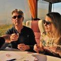 Bus en vignes en Champagne