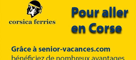 Offre Corsica Ferries senior-vacances.com