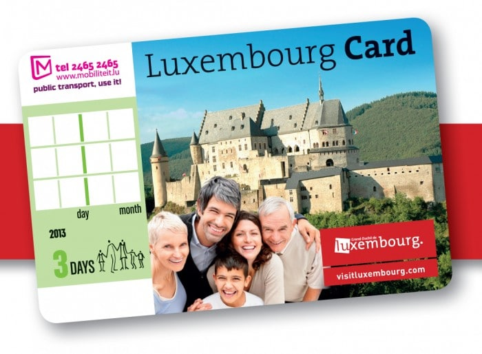 Luxembourg City card
