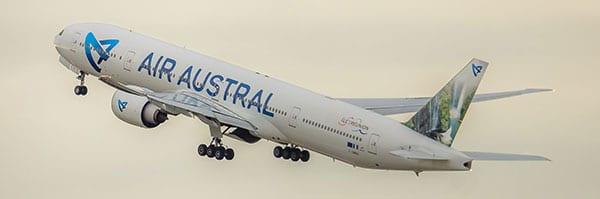 La Compagnie Air Austral propose une réduction senior
