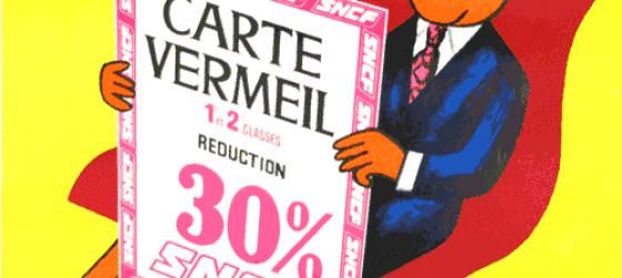 Carte Vermeil SNCF
