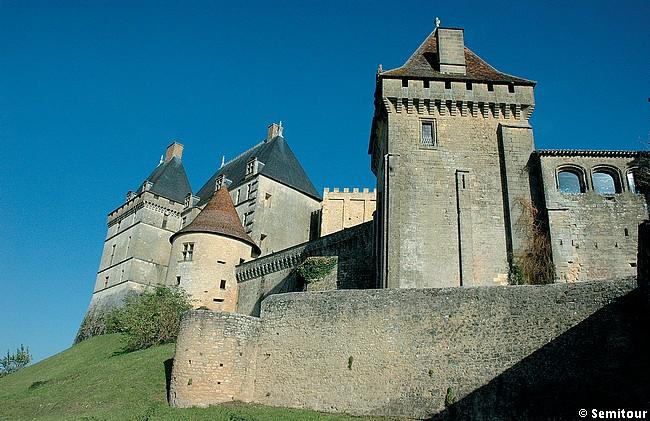 Château de Biron, en périgord