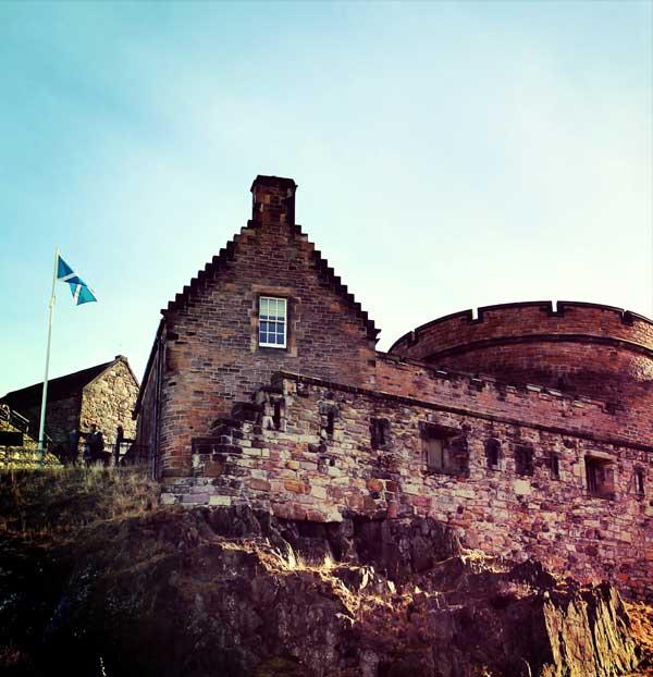Edimbourg et son château