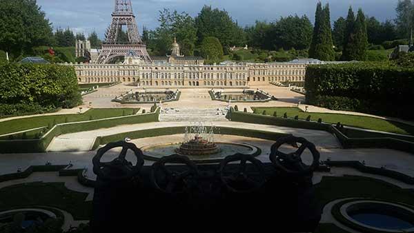 Photo du château de Versailles France Miniature