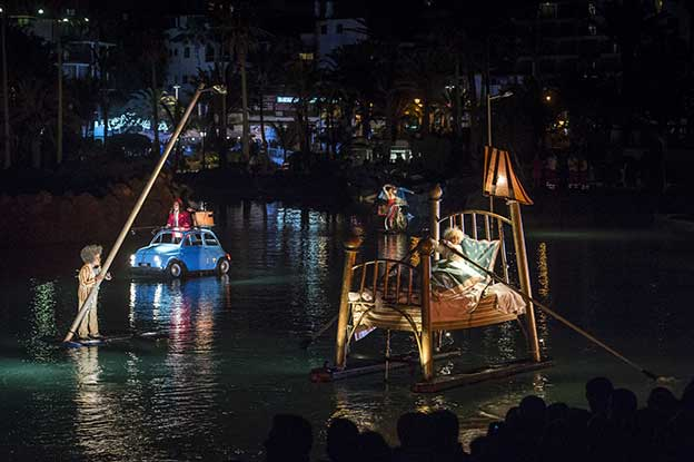 Spectacle de nuit Festival Mueca Tenerife