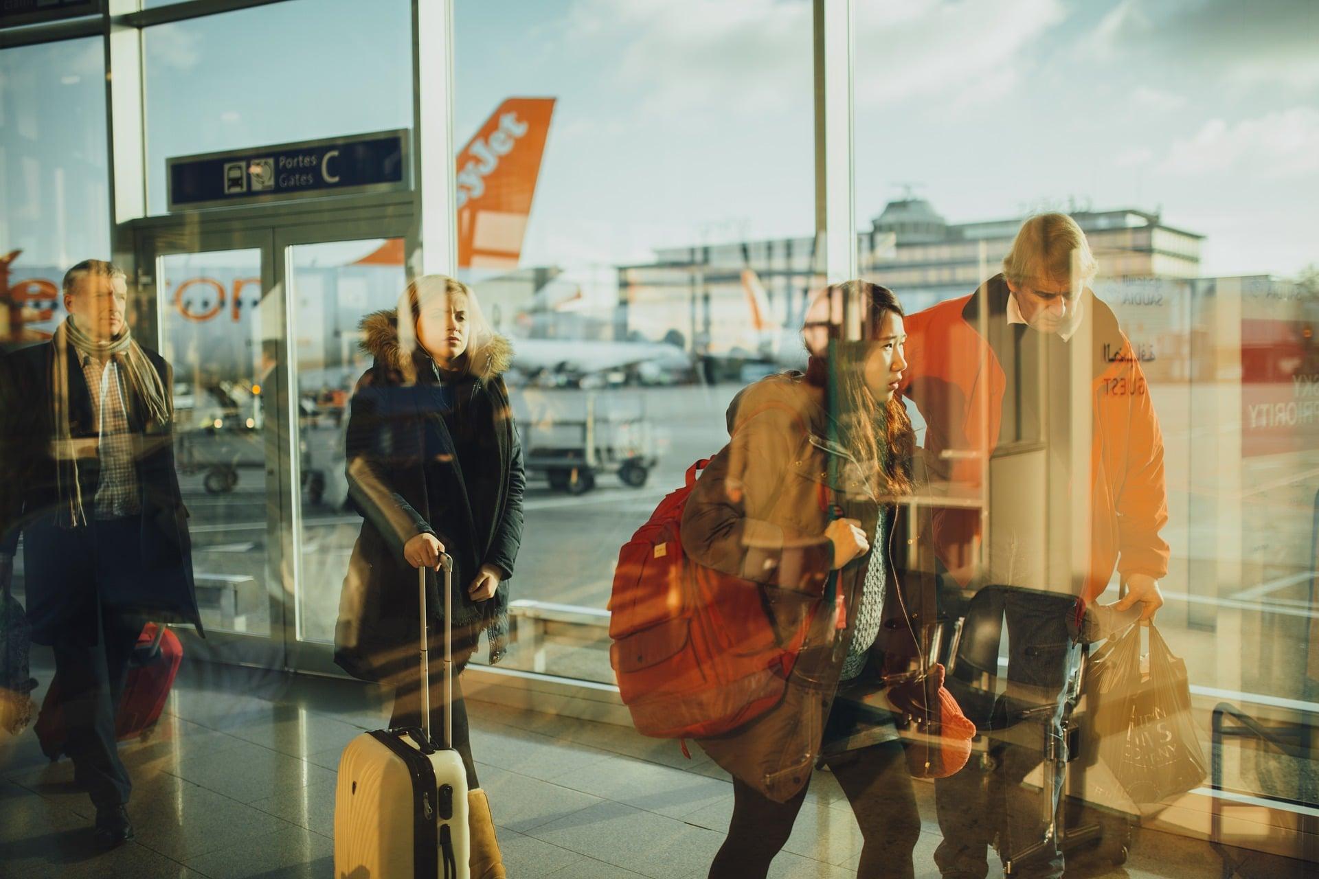 Aéroport - Départ en vacance