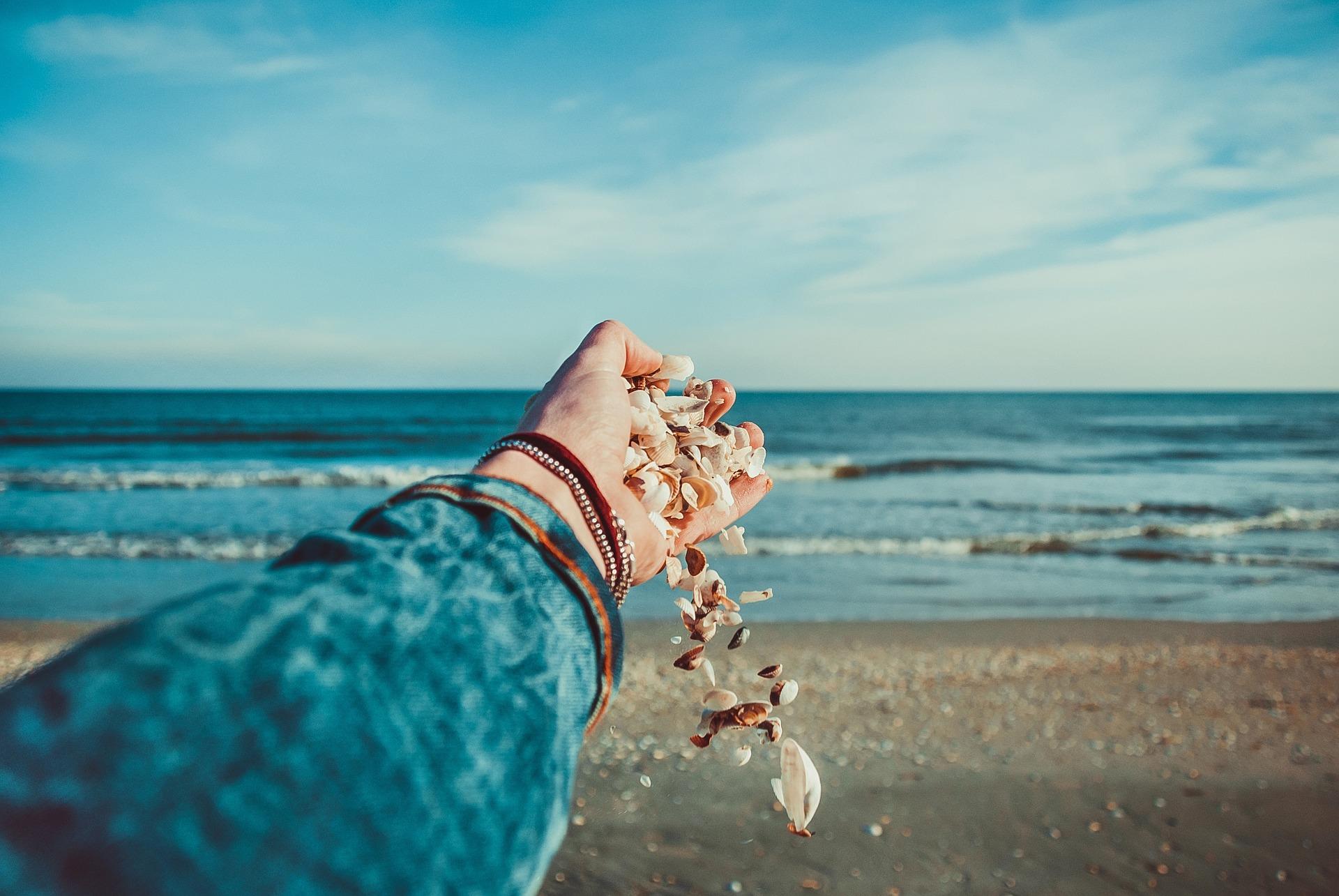 Instants de bonheur à la plage!