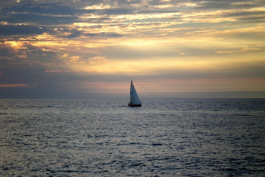 Coucher de soleil - Atlantique