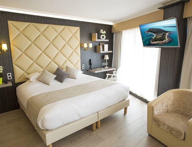 Chambre de l'hôtel Best Western Cannes Riviera & Spa 4*