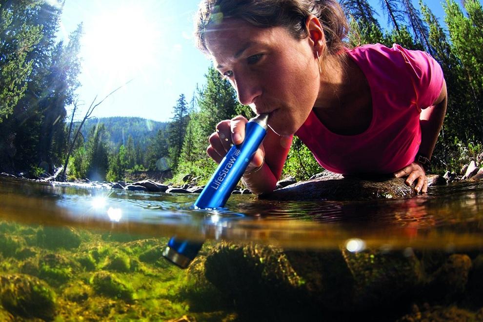 Lifestraw, la paille filtrante qui purifie l'eau partout