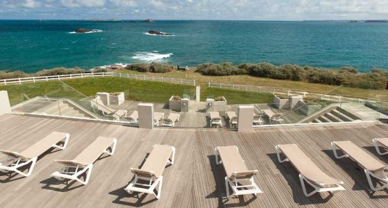 Vue mer Novotel Dinard Thalassa Sea & Spa 4*