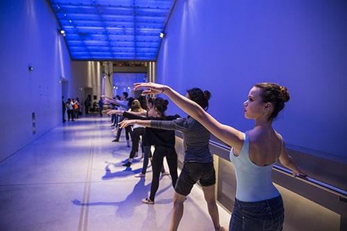 Danse au musée des confluences pour les journées du patrimoine