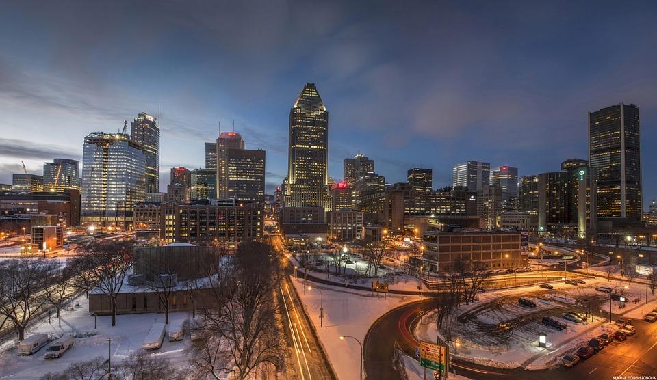 Montréal, ville de l'été indien
