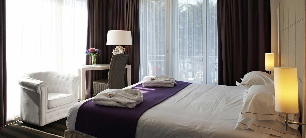 Chambre hôtel et SPA à Bénodet en Bretagne
