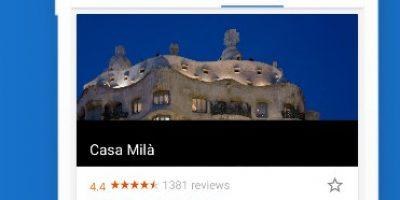 google trips : application voyage pour planifier votre séjour