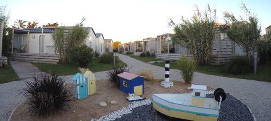 Village de cottages et bungalows au village vacances des Beaupins à Saint Denis d'Oléron