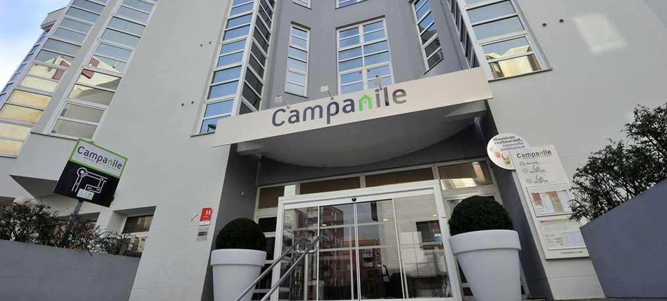 Hôtel Restaurant Campanile Reims Centre Cathédrale