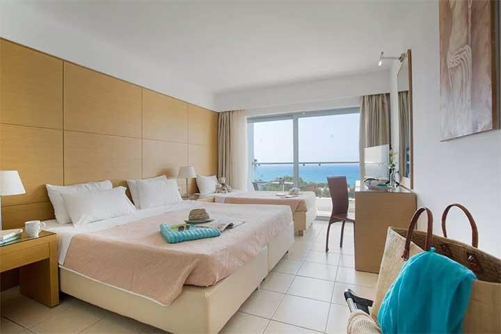 Chambre au Club Marmara Doreta Beach Grèce, Rhodes