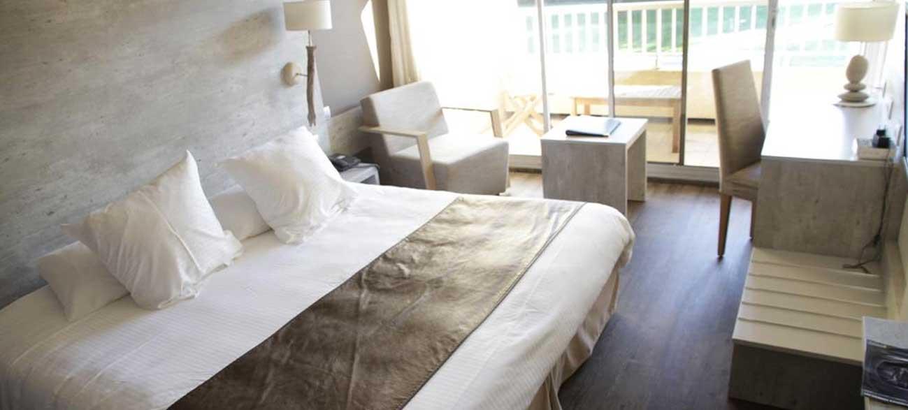 Chambre de l'hôtel Best Western Clos Syrah à Valence