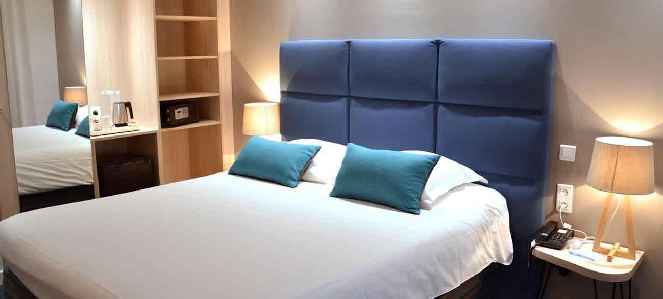 Chambre de l'hôtel Best western Plaisance en Beaujolais
