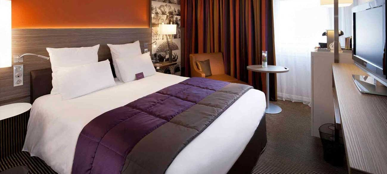 Chambre de l'hôtel Mercure Chambery Centre