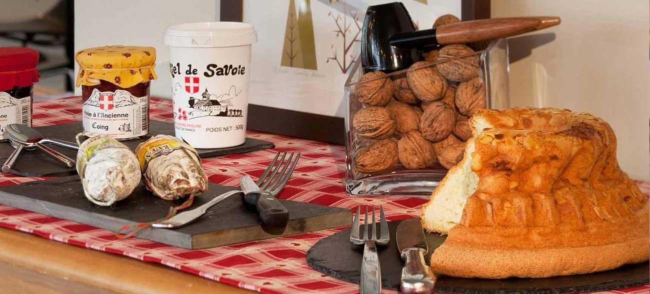 Spécialités de Savoie à l'hôtel Mercure Chambery Centre