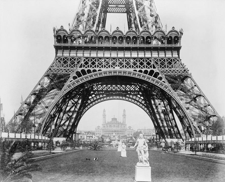 Le Paris de Simone VEIL premier ministre