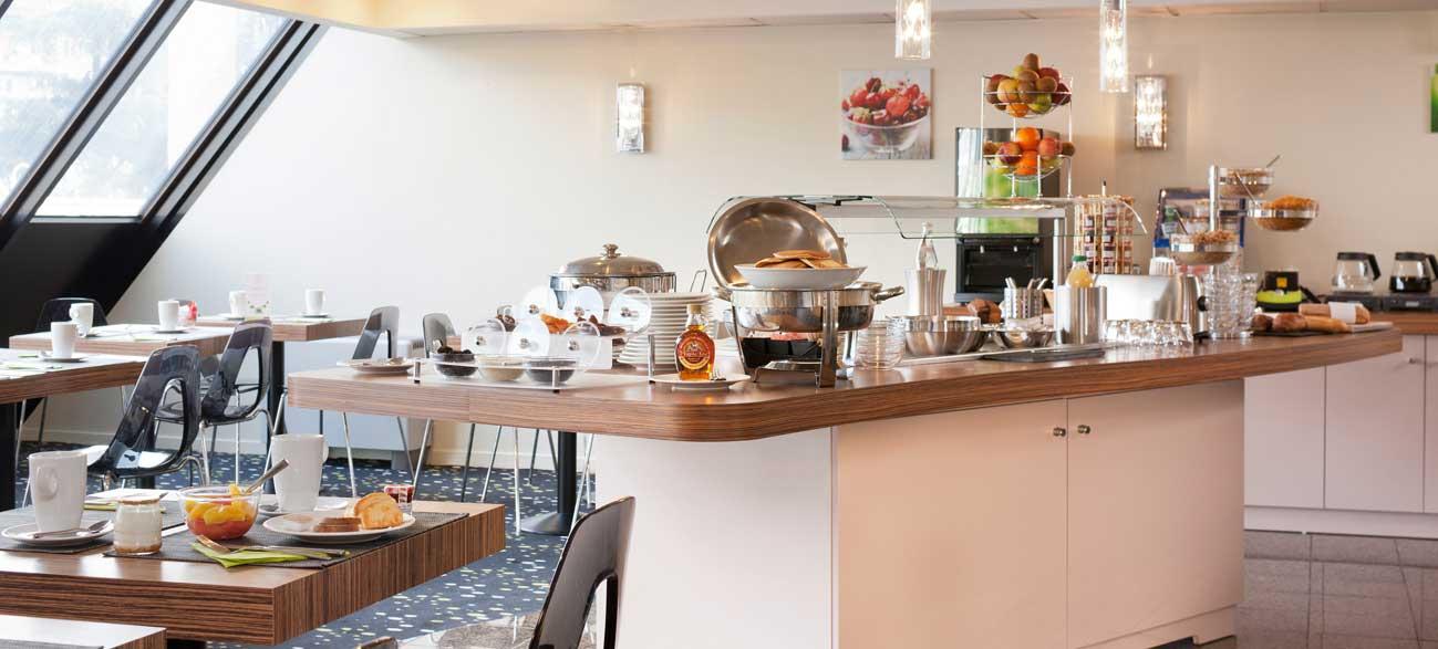Petit-dejeuner à l'Hôtel Mercure Chambery Centre