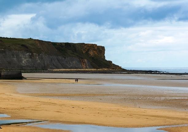 Plage du debarquement de Normandie Gold Beach