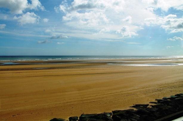 Plage du debarquement de Normandie Juno Beach
