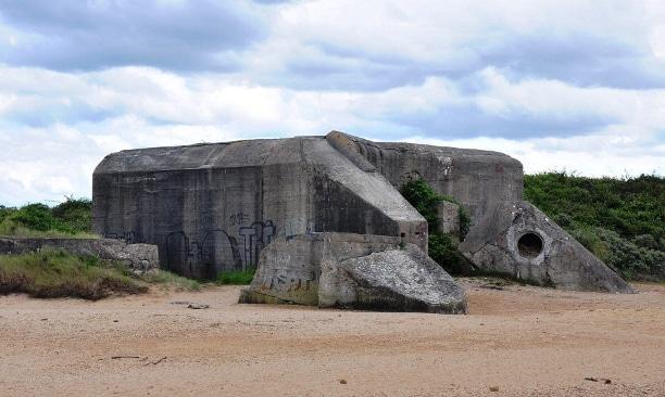 Plage du debarquement de Normandie Sword Beach