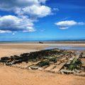 Plage du debarquement de Normandie Utah Beach